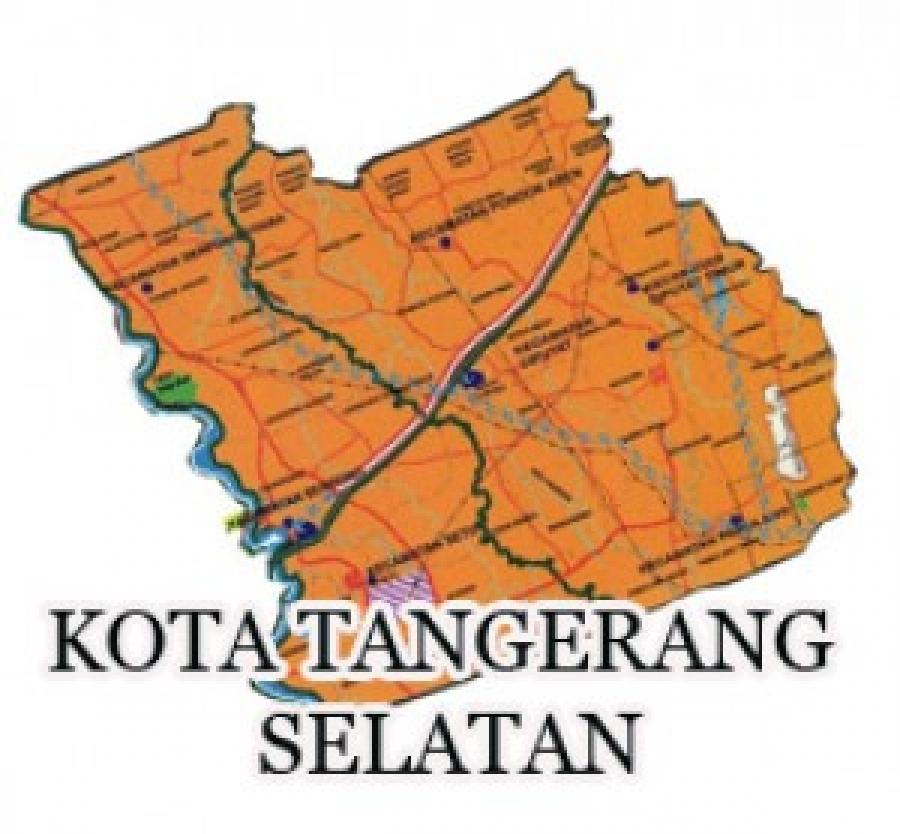 Peta Zonasi Tangerang Selatan - Nusagates
