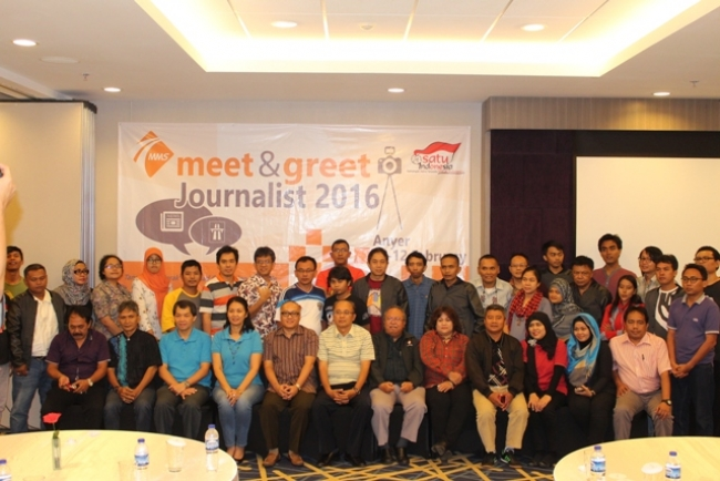 PT MMS Gelar Meet and Greet Journalist 2016