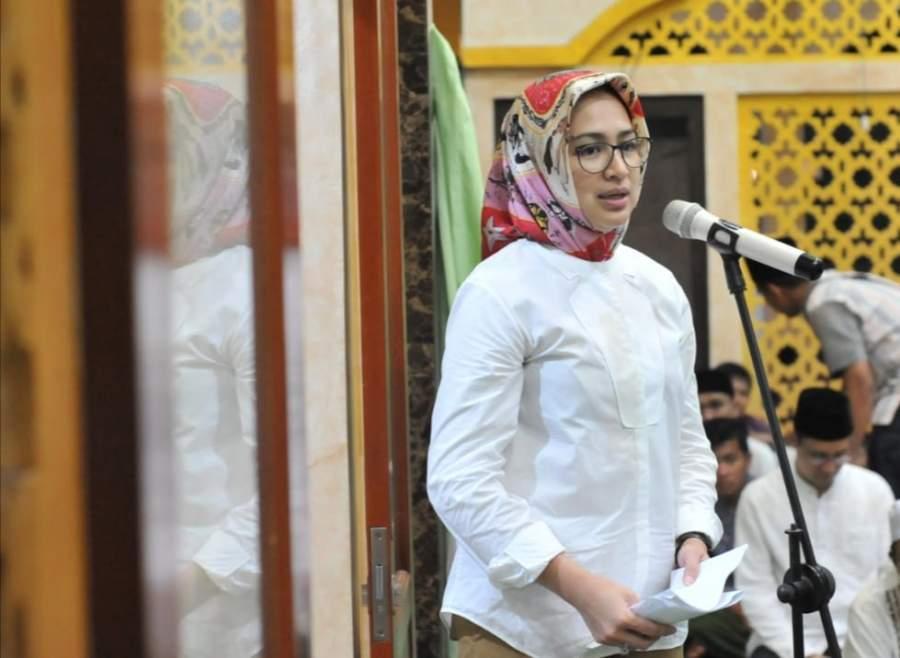 Tarling Di Masjid Nurul Iman, Airin Ajak Masyarakat Tingkatkan Ukhuwah Islamiyah