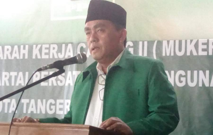 Wakil Ketua DPW PPP Banten, Achmad Fauzi.