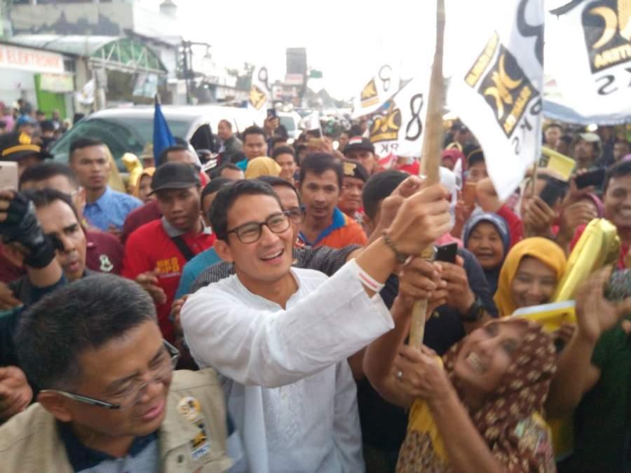 PKS Serius, Ingin Prabowo Sandi Menang Di Tangsel
