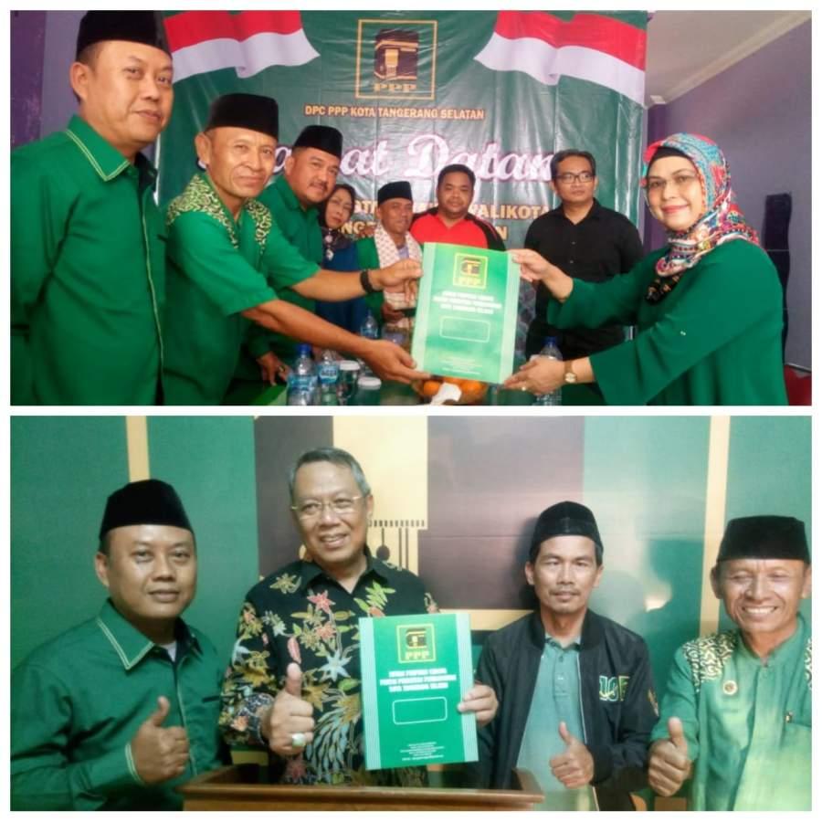 Pilkada Tangsel, Azizah - Bang Ben Berebut Dukungan Partai Non Parlemen