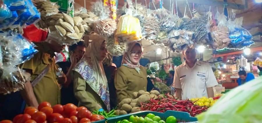 Pastikan Stok Pangan, Disperindag Sidak Gabungan di Pasar Serpong
