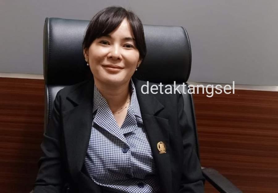 Wakil Ketua DPRD Tangsel Li Claudia Chandra atau Alin.