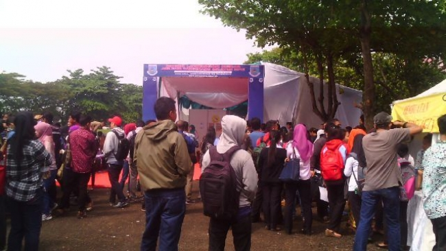 Dinsoskertrans Tangsel Gelar Job Fair