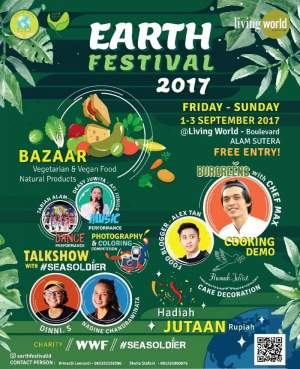 Gading Youth Gelar Earth Festival di Mall Living World