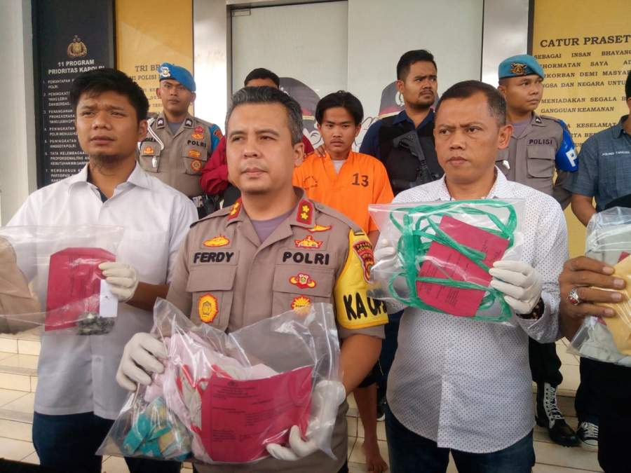 Sisa Daging Di Kuku Korban, Modal Polisi Bekuk Pembunuh Perempuan Di Legok Tangerang