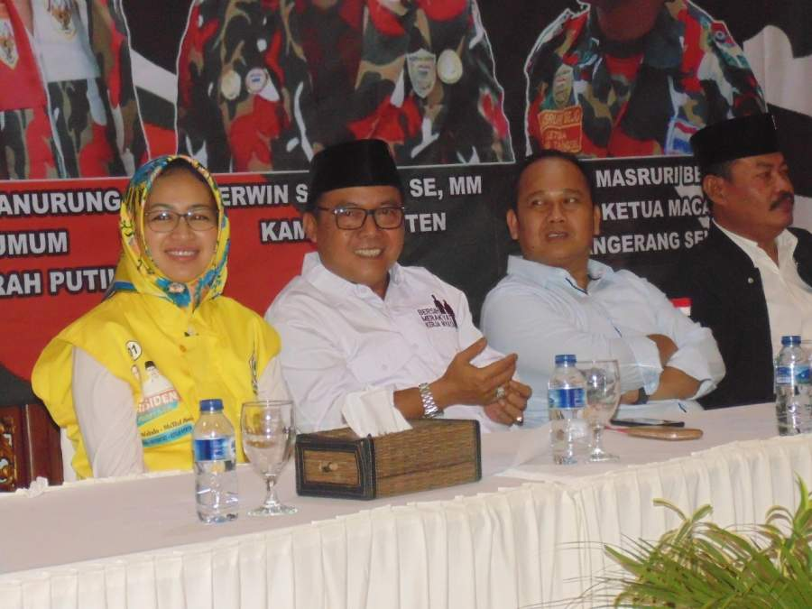 LMP MACAB Tangsel Deklarasi Dukung Jokowi Amin Paslon 01