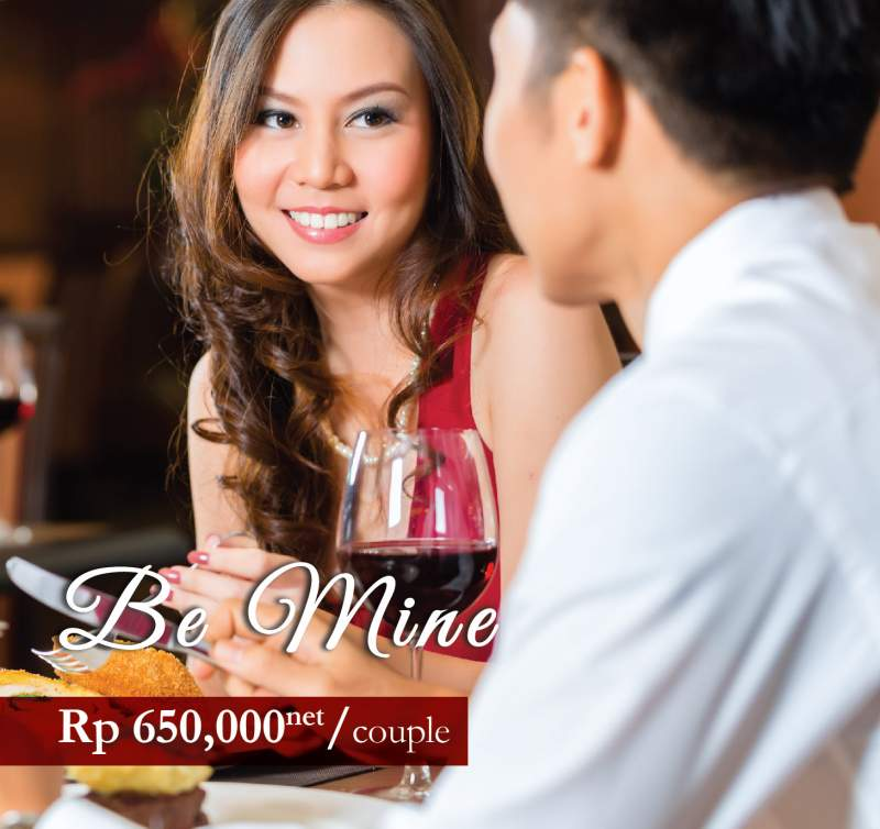 Valentine day di Atria Residence Gading Serpong.
