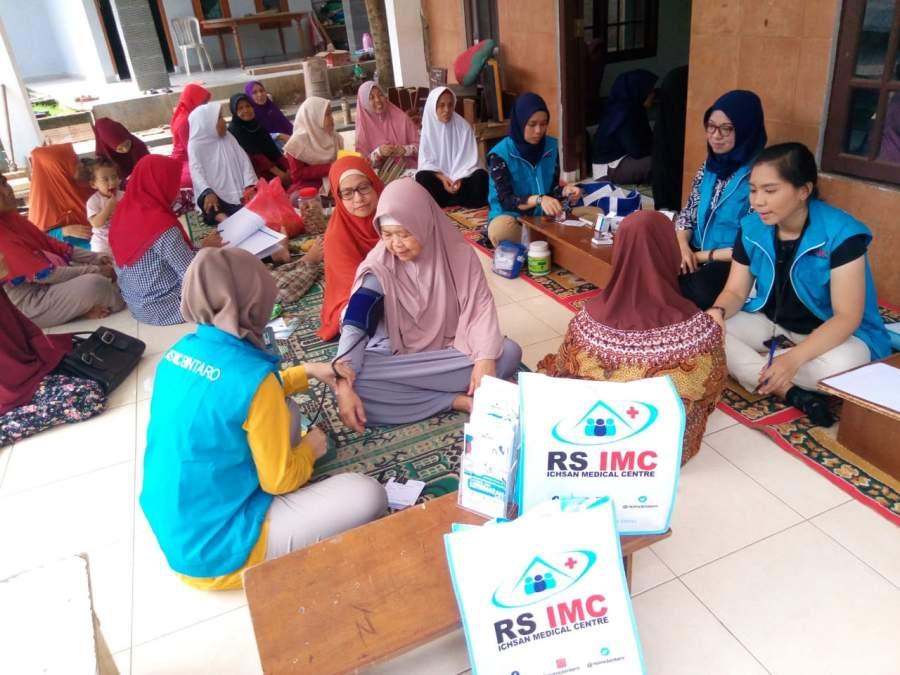 Peringati Hari Kesehatan Nasional, RS IMC Bintaro Gelar Cek Kesehatan Gratis