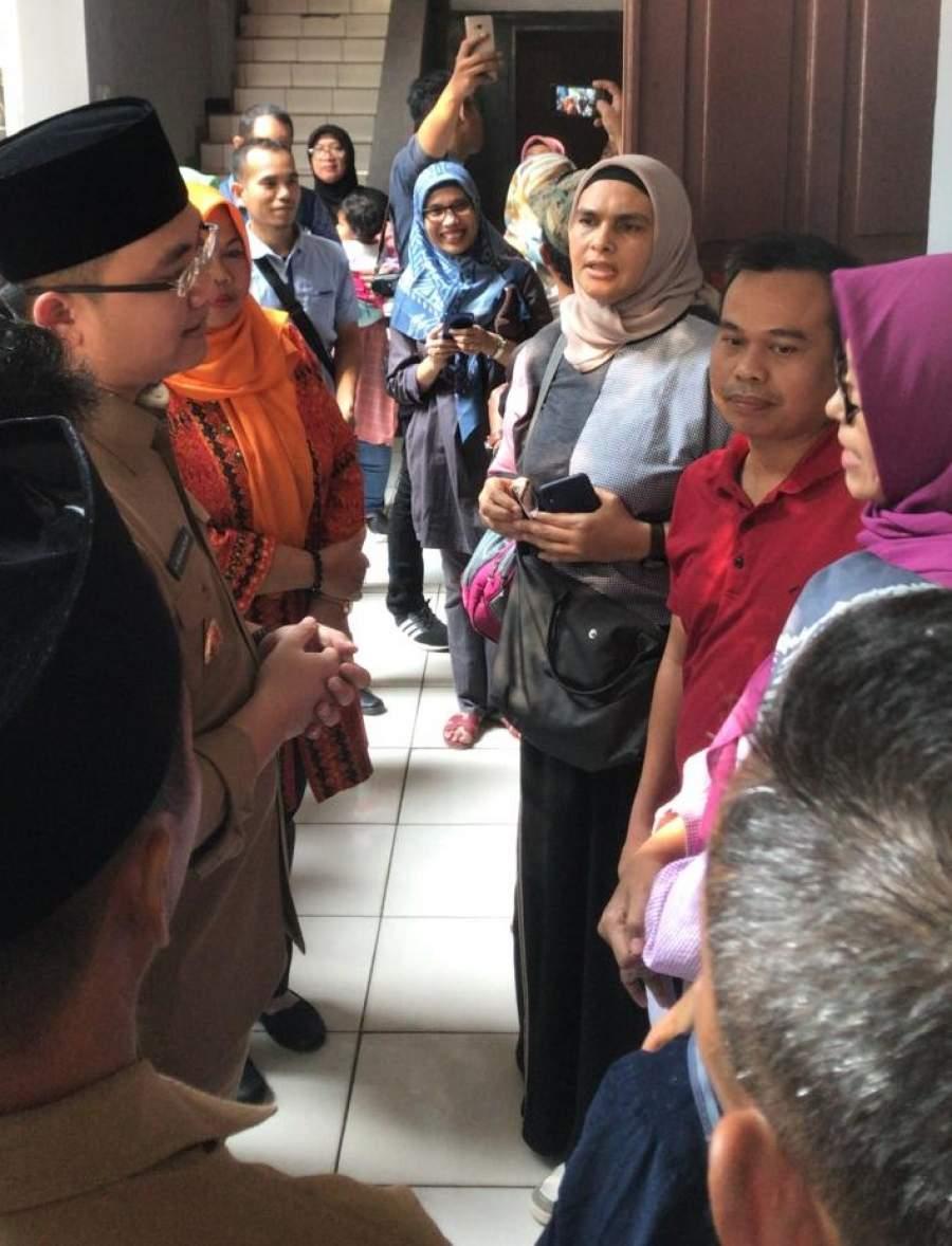 Sidak Wagub ke SMAN 2 Tangsel: Alhamdullilah Ada Kemajuan Dibanding PPDB 2018