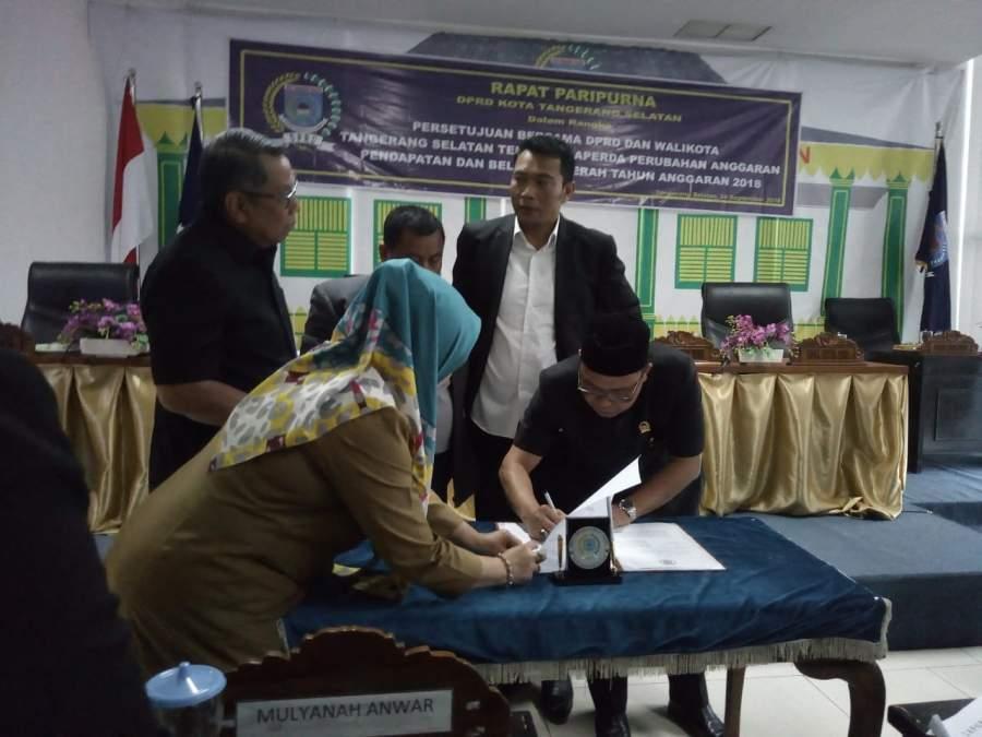 APBD Perubahan 2018 Kota Tangsel Tambah Rp 93 Miliar