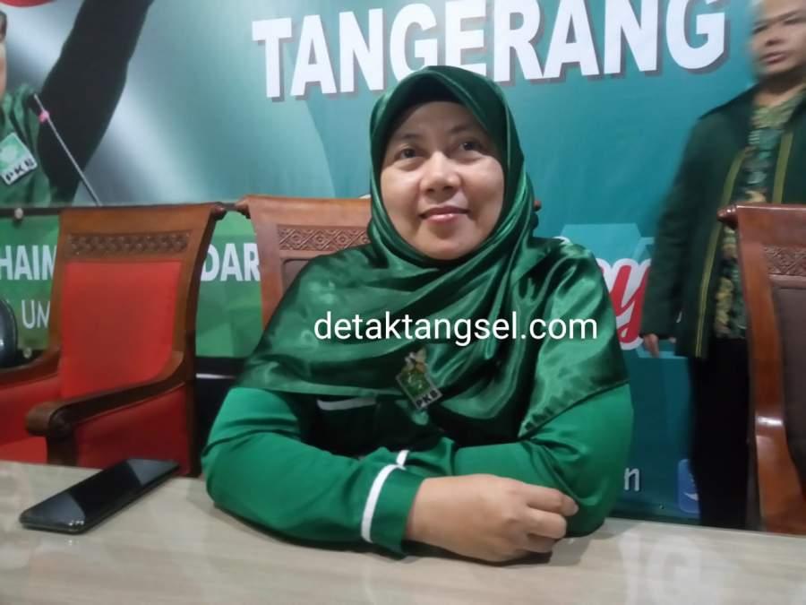 Ketua desk Pilkada PKB Tangsel, Muthmainnah.