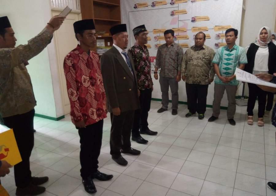 Tiga Anggota Pengawas Pemilu 2019 Di Kota Tangsel Resmi Dilantik