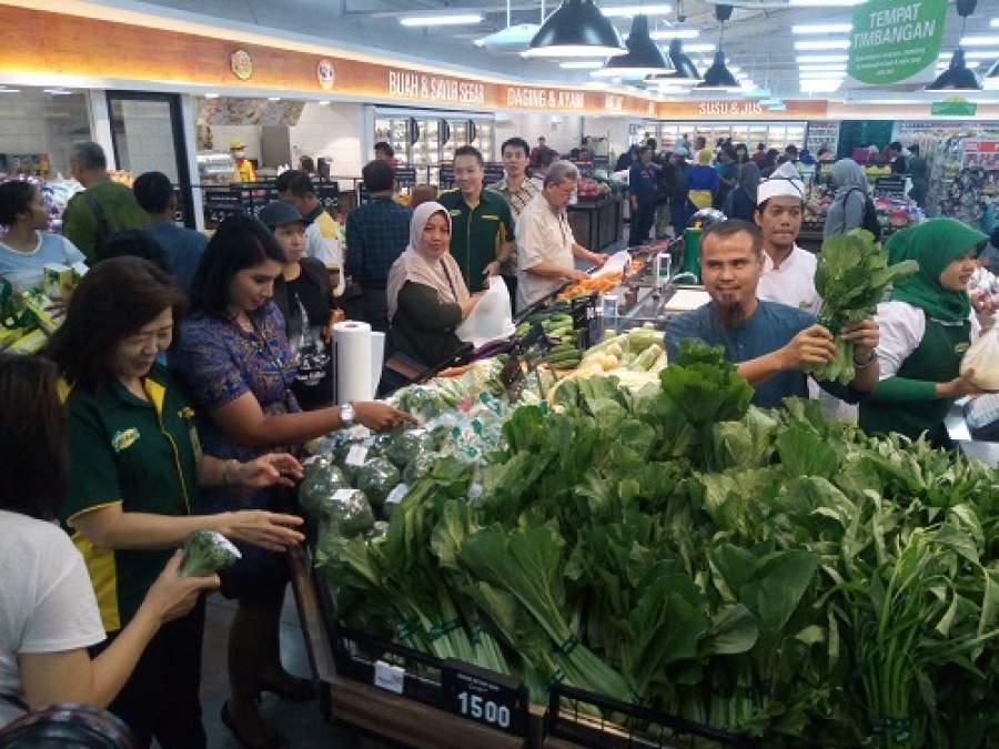 Giant Graha Raya Bintaro di Serbu Emak-Emak, Ada Apa ?