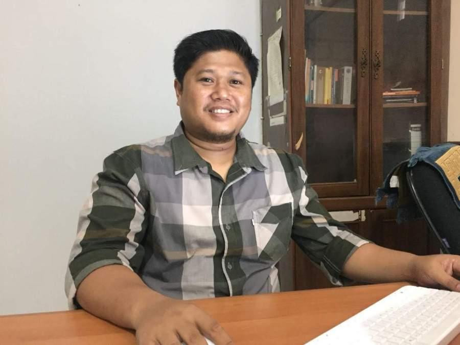 Anggota KPU Tangsel Achmad Mudjahid Zein.