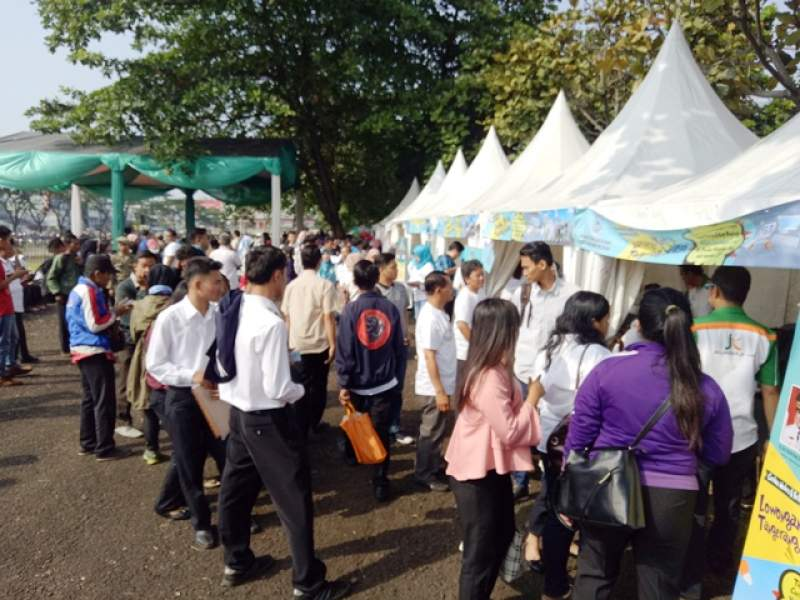 Suasana Job Fair Tangsel 2017