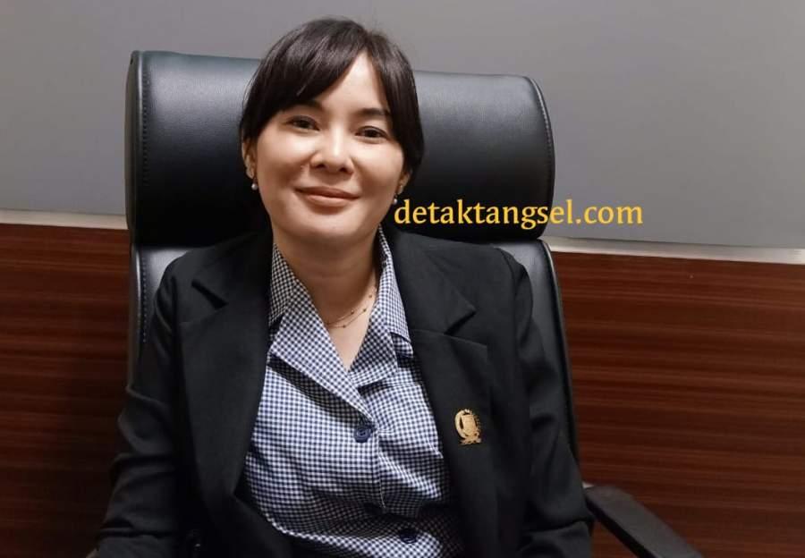 Ketua Gerindra Tangsel Li Claudia (by dra)