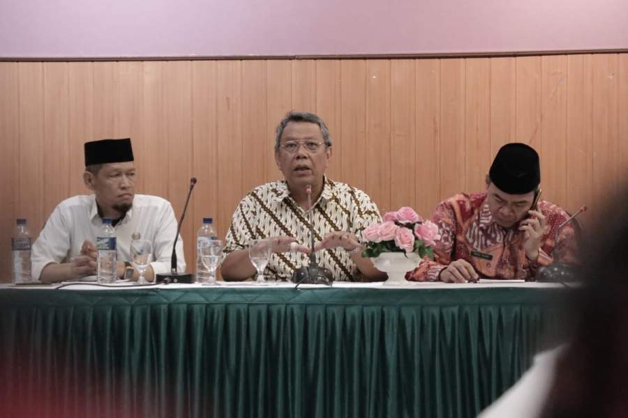 Benyamin : Forum Lintas Agama Harus Jaga Keharmonisan