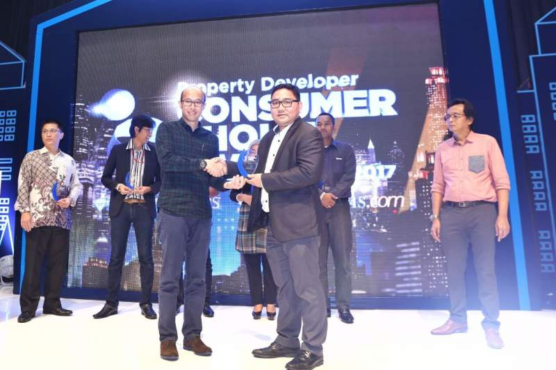 Paramount Land Raih Penghargaan Consumer Choice Awards