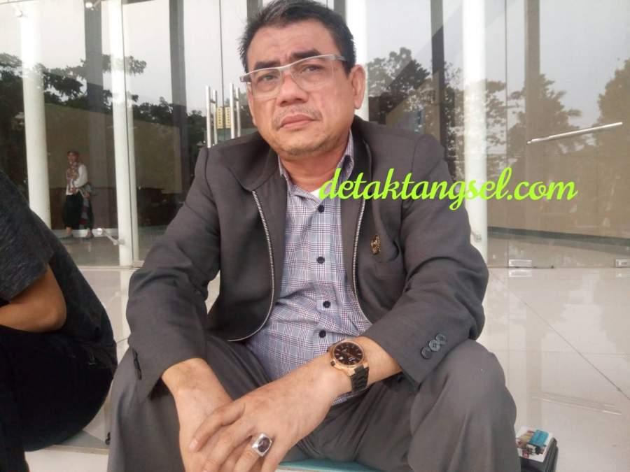 Ketua Komisi ll DPRD Tangsel, Sukarya.