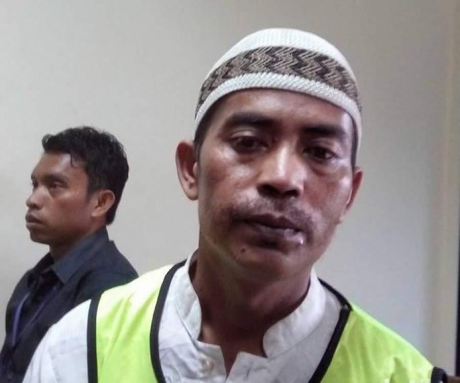 Tajudin Penjual Cobek Dinyatakan Tidak Bersalah