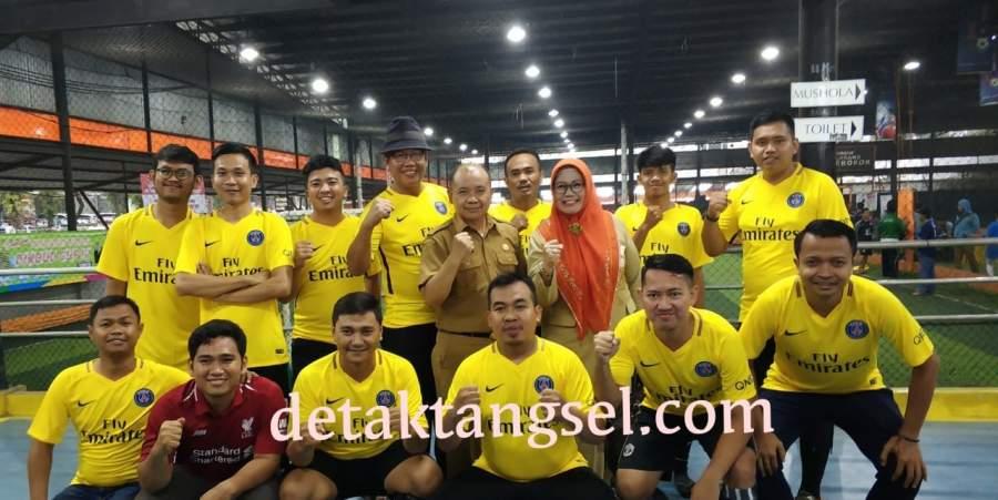 30 Tim Putsal Di OPD Tangsel Berjibaku Rebut Piala Dindikbud 2019