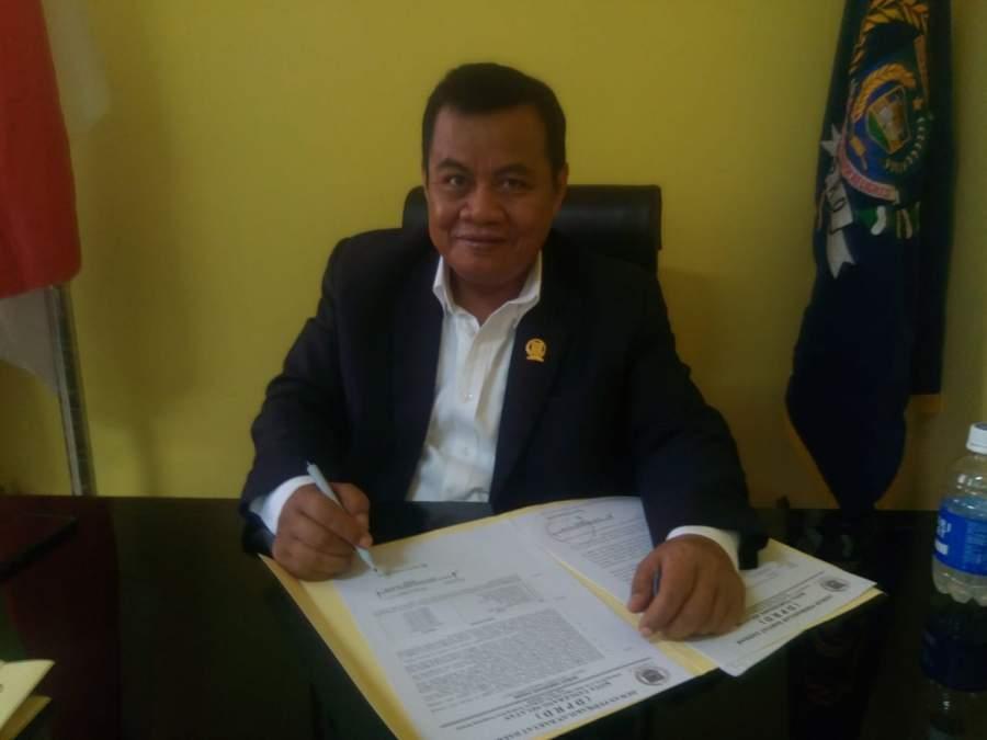 Ketua DPRD Kota Tangsel, Moch Ramlie.
