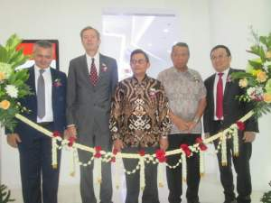Peresmian Southeast Asia Regional Innovation Center di Bintaro.