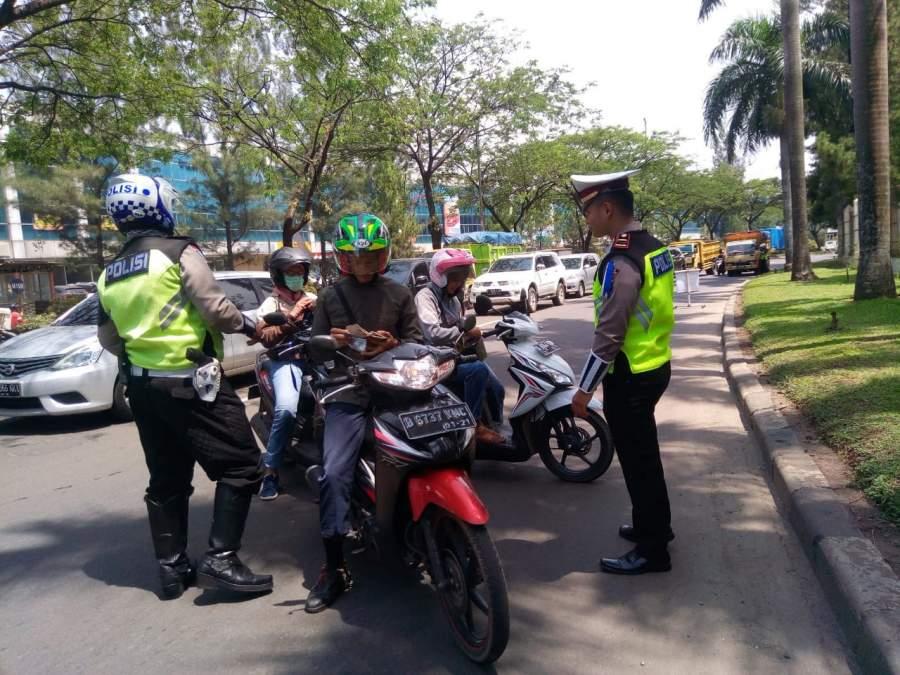 Operasi Zebra 2018, Jumlah Pelanggar Lalulintas Di Kota Tangsel Meningkat