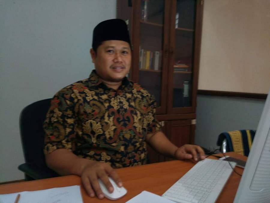 Komisioner KPU Kota Tangsel, Achmad Mudjahid Zein