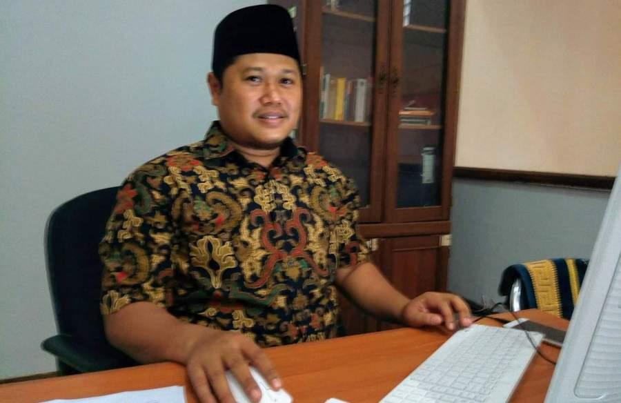 Komisioner KPU Kota Tangsel, Ahmad Mudjahid Zein.