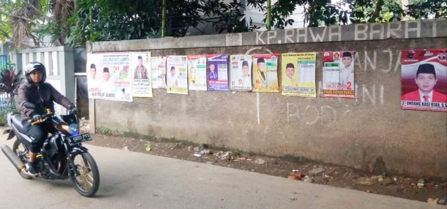 Pol PP Siap Tertibkan APK, Bawaslu Sebut Daerah Sekitar TPS Harus Steril APK Pemilu