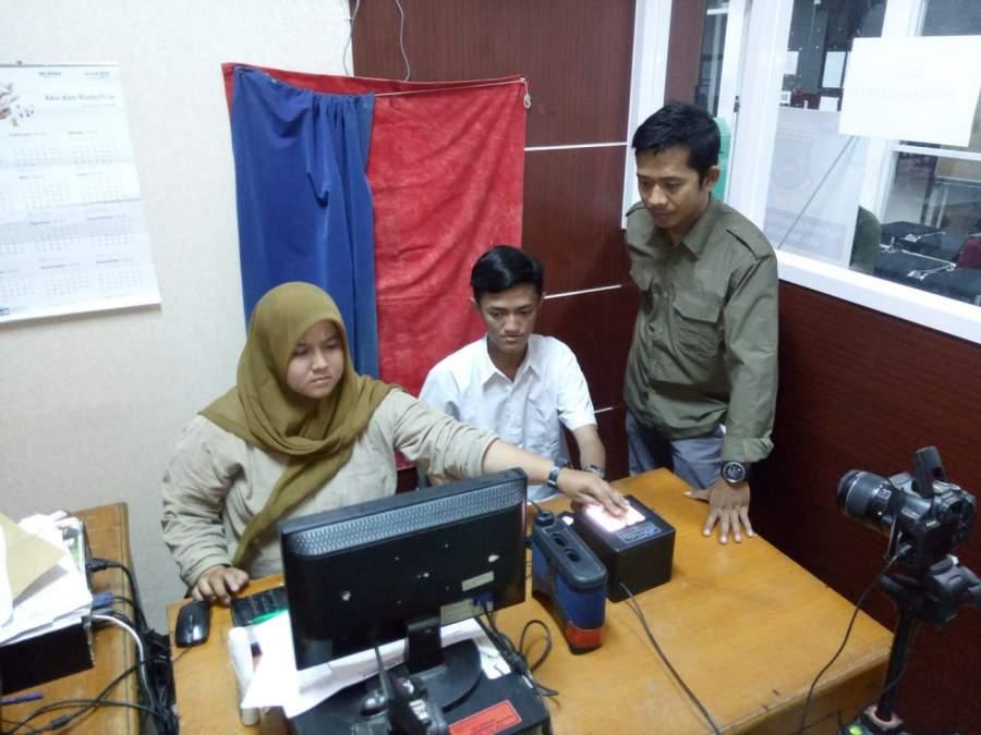Pelayanan Pembuatan KTP elektronik Di Pondok Aren Didominasi Pelajar
