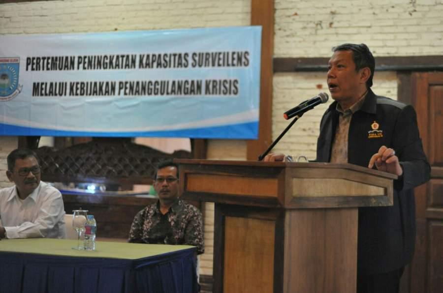 Dinkes Gelar Pertemuan untuk Peningkatan Penanggulangan Krisis