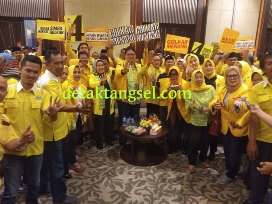 Ratu Tatu: Hasil Survey Golkar Ditempel Gerindra, Kader Diminta Waspada