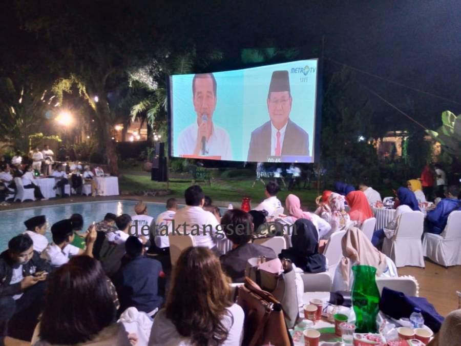 Debat Capres, Airin Sebut Masyarakat Harus Jernih Menilai Program Jokowi