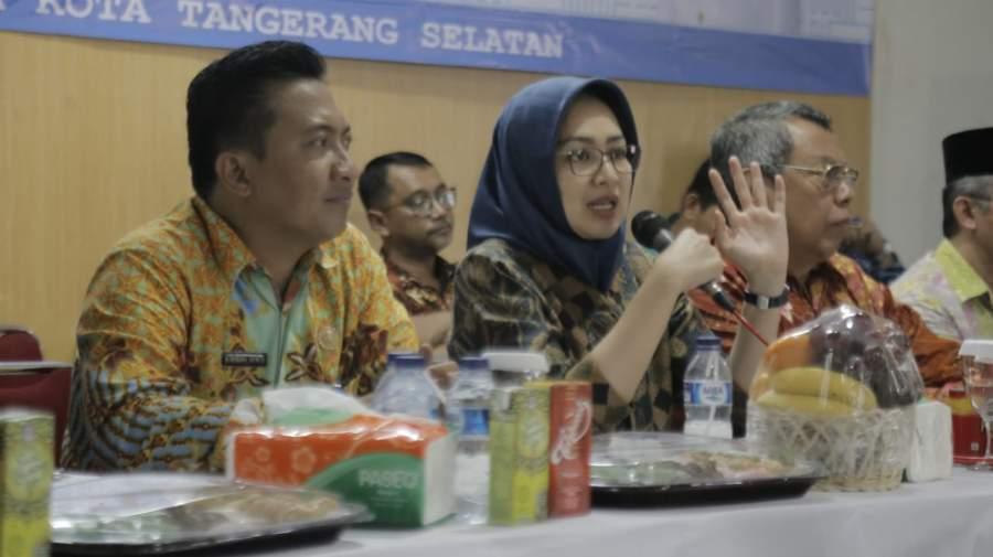 Airin Ungkap Capaian Pembangunan di Kecamatan Pondok Aren