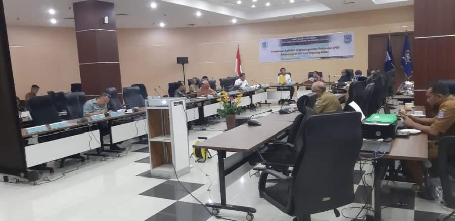Banggar DPRD Tangsel Bahas Raperda Pertanggungjawaban APBD 2018
