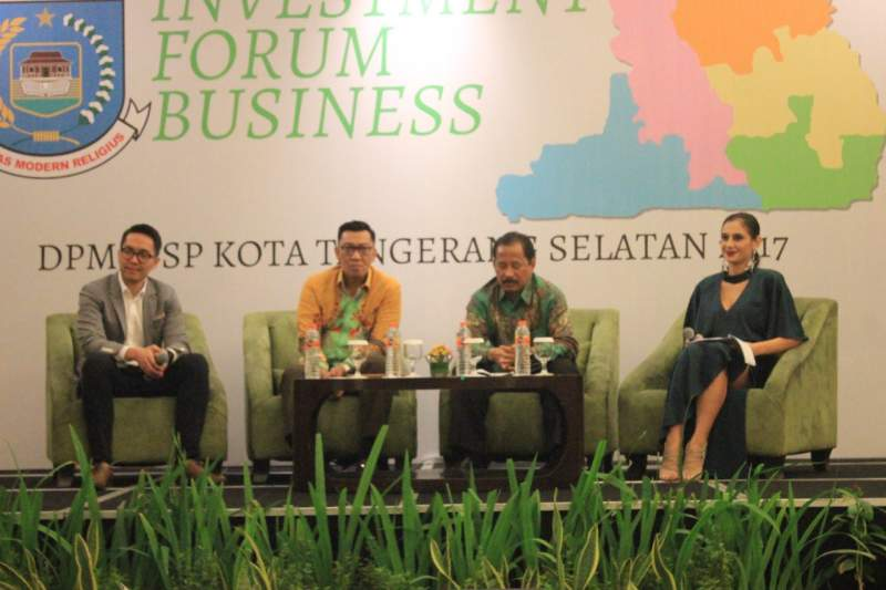 DPMPTSP Gelar Investment Forum Business