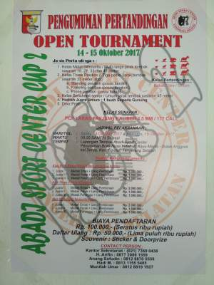 Abadi SC Gelar Open Shooting Tournament