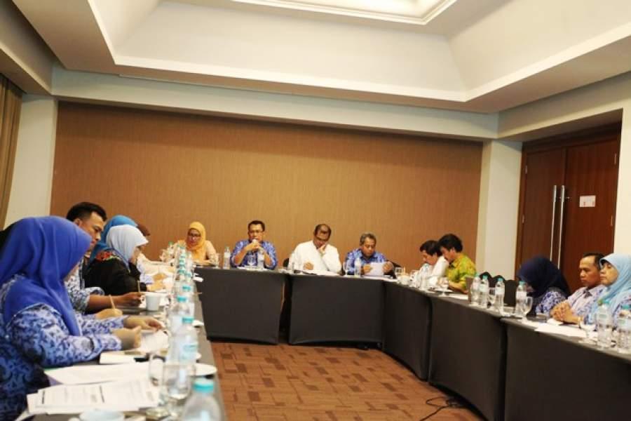 Rapat pembahasan kerjasama BPJS Kesehatan.